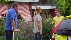 Toadie Rebecchi, Steph Scully, Charlie Hoyland in Neighbours Episode 7297