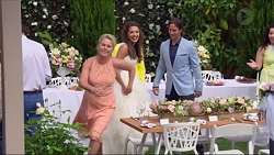 Lauren Turner, Paige Novak, Brad Willis in Neighbours Episode 7297