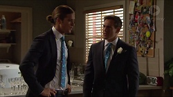 Tyler Brennan, Aaron Brennan in Neighbours Episode 7298