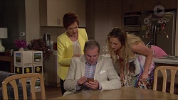 Susan Kennedy, Karl Kennedy, Sonya Mitchell in Neighbours Episode 7298
