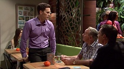 Josh Willis, Doug Willis, Paul Robinson in Neighbours Episode 7298