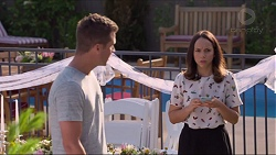 Mark Brennan, Imogen Willis in Neighbours Episode 7299