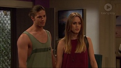 Tyler Brennan, Courtney Grixti in Neighbours Episode 7300