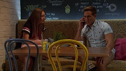 Piper Willis, Aaron Brennan in Neighbours Episode 7300