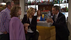 Karl Kennedy, Lyn Scully, Steph Scully, Terese Willis, Paul Robinson in Neighbours Episode 7301