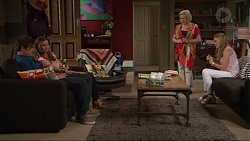 Kyle Canning, Amy Williams, Sheila Canning, Xanthe Canning in Neighbours Episode 7301