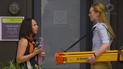 Imogen Willis, Amanda Fowke in Neighbours Episode 7301