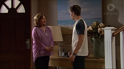 Lyn Scully, Josh Willis in Neighbours Episode 7301