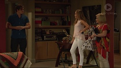 Kyle Canning, Xanthe Canning, Sheila Canning in Neighbours Episode 7301