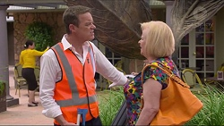 Paul Robinson, Sheila Canning in Neighbours Episode 7302