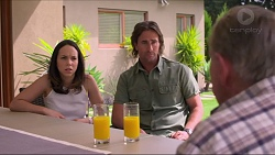 Imogen Willis, Brad Willis, Doug Willis in Neighbours Episode 7302