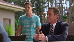 Josh Willis, Paul Robinson in Neighbours Episode 7302