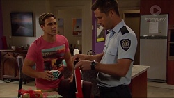 Aaron Brennan, Mark Brennan in Neighbours Episode 7303