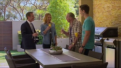 Paul Robinson, Steph Scully, Doug Willis, Josh Willis in Neighbours Episode 7303
