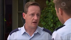 Const. Ian McKay, Mark Brennan in Neighbours Episode 7303