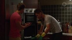 Aaron Brennan, Mark Brennan in Neighbours Episode 7304