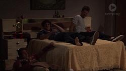 Aaron Brennan, Kyle Canning, Mark Brennan in Neighbours Episode 7304