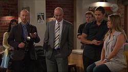 Richard Pentecost, Tim Collins, Tyler Brennan, Courtney Grixti in Neighbours Episode 7304