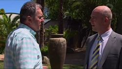 Karl Kennedy, Tim Collins in Neighbours Episode 7304