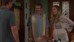 Mark Brennan, Toadie Rebecchi, Sonya Rebecchi in Neighbours Episode 7305