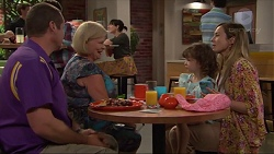 Toadie Rebecchi, Sheila Canning, Nell Rebecchi, Sonya Mitchell in Neighbours Episode 7306