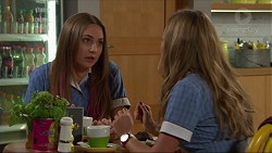 Piper Willis, Xanthe Canning in Neighbours Episode 7306