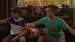 Jimmy Williams, Charlie Hoyland in Neighbours Episode 7306