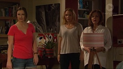 Amy Williams, Steph Scully, Lyn Scully in Neighbours Episode 7306