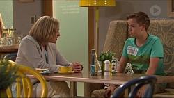 Philippa Hoyland, Charlie Hoyland in Neighbours Episode 7307