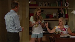 Paul Robinson, Xanthe Canning, Sheila Canning in Neighbours Episode 7308