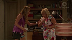 Xanthe Canning, Sheila Canning in Neighbours Episode 7308