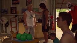 Lou Carpenter, Brad Willis in Neighbours Episode 7309