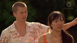 Daniel Robinson, Aurora Green in Neighbours Episode 7309