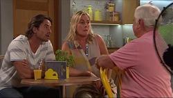Brad Willis, Lauren Turner, Lou Carpenter in Neighbours Episode 7309