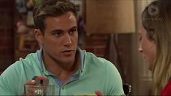 Aaron Brennan, Sonya Mitchell in Neighbours Episode 7309