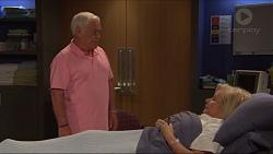 Lou Carpenter, Sheila Canning in Neighbours Episode 7309