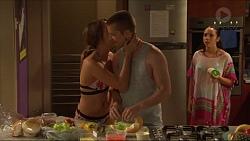 Courtney Grixti, Daniel Robinson, Imogen Willis in Neighbours Episode 7310
