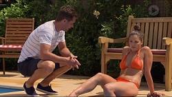 Mark Brennan, Paige Novak in Neighbours Episode 7310