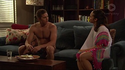 Tyler Brennan, Imogen Willis in Neighbours Episode 7310