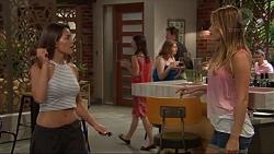 Paige Novak, Courtney Grixti in Neighbours Episode 7310