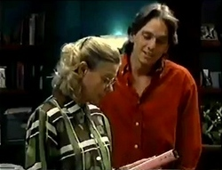 Helen Daniels, Darren Stark in Neighbours Episode 2855