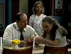 Philip Martin, Helen Daniels, Debbie Martin in Neighbours Episode 2855