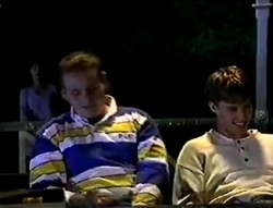 Susan Kennedy, Toadie Rebecchi, Billy Kennedy in Neighbours Episode 2855