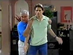Lou Carpenter, Rohan Kendrick in Neighbours Episode 2856