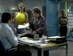 Karl Kennedy, Sarah Beaumont, Marlene Kratz, Lisa Elliot in Neighbours Episode 2857