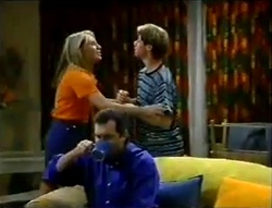 Ruth Wilkinson, Lance Wilkinson, Karl Kennedy in Neighbours Episode 2888