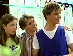 Anne Wilkinson, Lance Wilkinson, Billy Kennedy in Neighbours Episode 2888