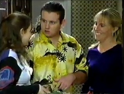 Hannah Martin, Toadie Rebecchi, Ruth Wilkinson in Neighbours Episode 2888
