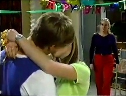 Billy Kennedy, Anne Wilkinson, Ruth Wilkinson in Neighbours Episode 2888