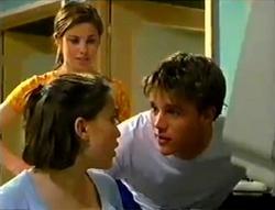 Anne Wilkinson, Libby Kennedy, Billy Kennedy in Neighbours Episode 2955